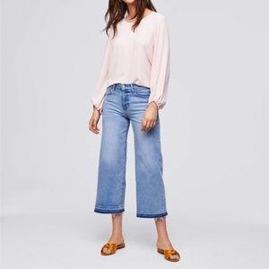 NWT LOFT Wide Leg Crop Jean 27 / 4P